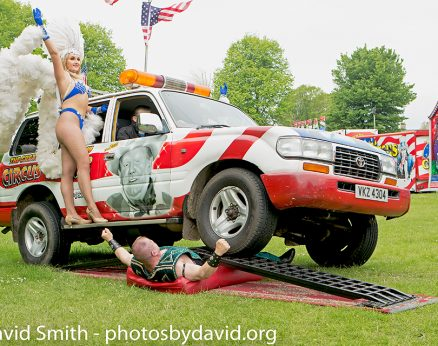 Circus Vegas press shoot at Brighton Fringe 2018