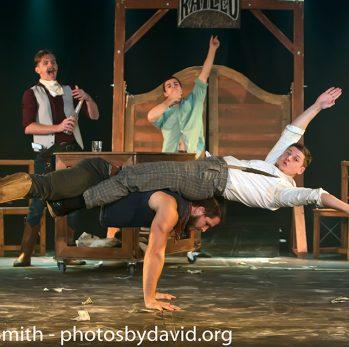 Head First Acrobats at Brighton Fringe