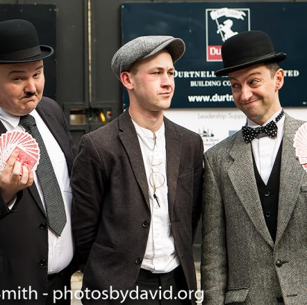 Stan & Ollie with magician John Welles Fringe City at Brighton Fringe 2019