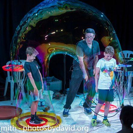 The Amazing Bubble Man at Brighton Fringe