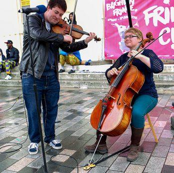 An Dhá Urban Folk Music at Fringe City – Brighton Fringe 2016