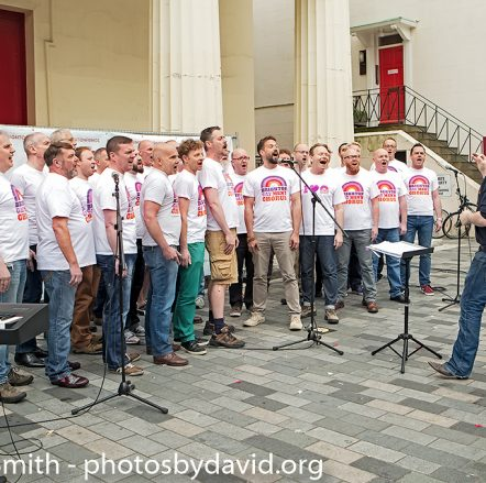 Brighton Gay Mens Chorus at Fringe-City – Brighton-Fringe 2015