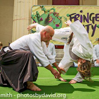 Brighton Ki Society demonstration at Fringe City – Brighton-Fringe 2014