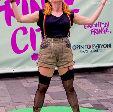 Eva Von Schnippisch at Fringe-City – Brighton Fringe 2017