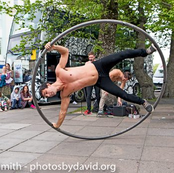Head First Acrobats at Fringe City – Brighton Fringe 2015