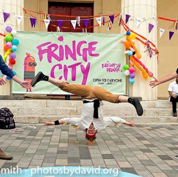 Head First Acrobats at Fringe City – Brighton Fringe 2016-2017