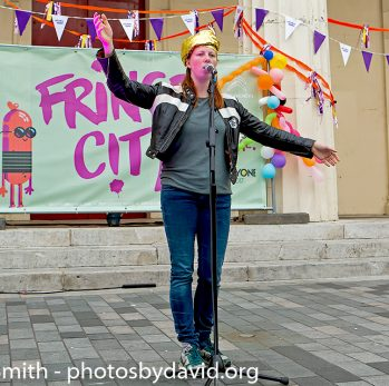 Karlijin Hamer at Fringe City Night – Brighton Fringe 2017
