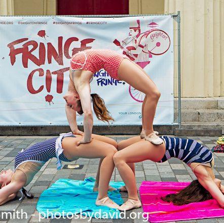 Les Femmes Circus at Fringe City – Brighton Fringe 2015