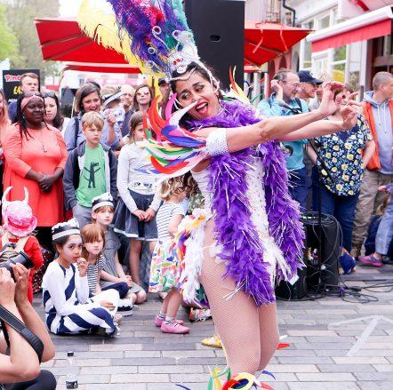 Marta Scott Samba Dancers at Fringe City – Brighton Fringe 2016
