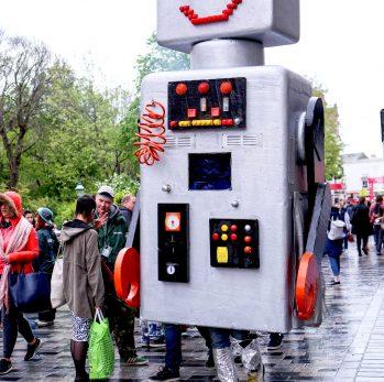 Secret Garden Robots at Fringe City – Brighton Fringe 2016