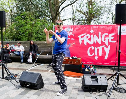 The History Of Everything In 60 Mins (More Or Less) with Ben Watson at Fringe City – Brighton Fringe 2016
