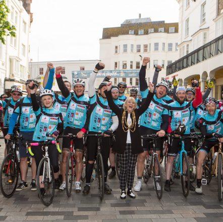 The Mayor of Brighton & Hove Charity Bike Ride at Brighton Fringe 2019