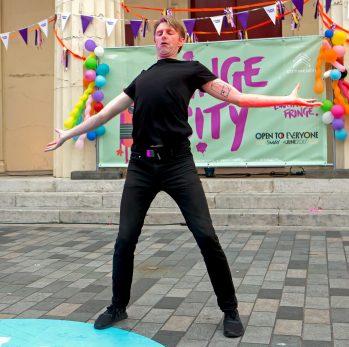 Trygve Wakensh at Fringe City Night-  Brighton Fringe 2017